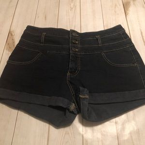 Mossimo High Rise Super Stretch Shorts Women 14/32
